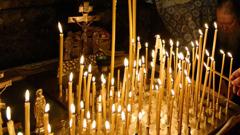 На Украине осквернили храм фашистской символикой