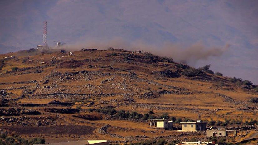 SANA: Израиль нанёс удар по сирийской Эль-Кунейтре