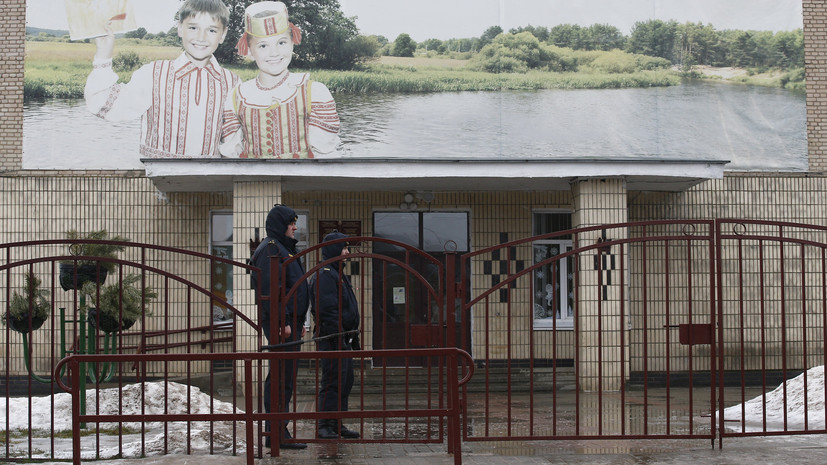 Следователи завершили осмотр места ЧП в белорусской школе