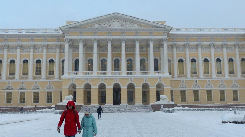 В результате протечек в хранилище Русского музея промокли картина и икона