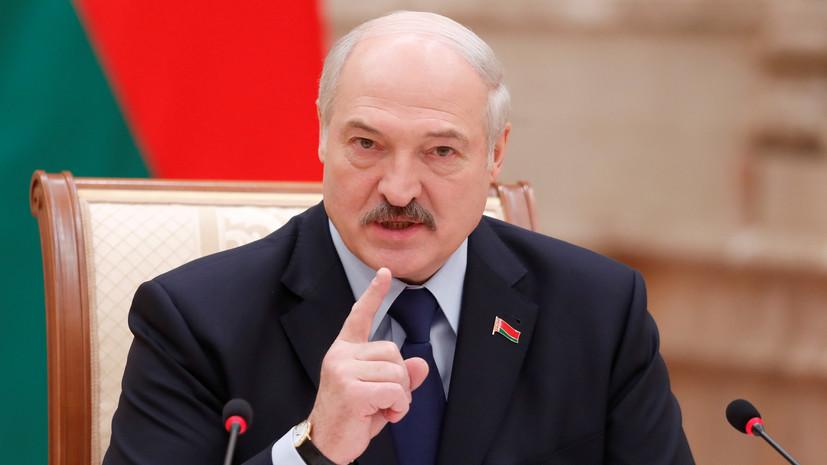 Лукашенко: Белоруссия не будет спокойно смотреть, если Польша начнёт бряцать оружием
