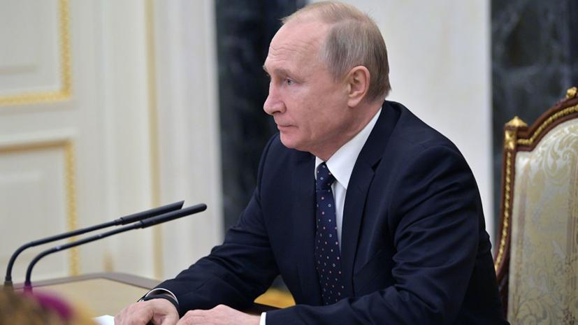 Путин выступил за создание сверхзвукового пассажирского самолёта