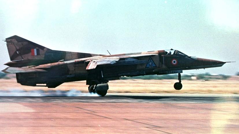 В Индии потерпел крушение МиГ-27