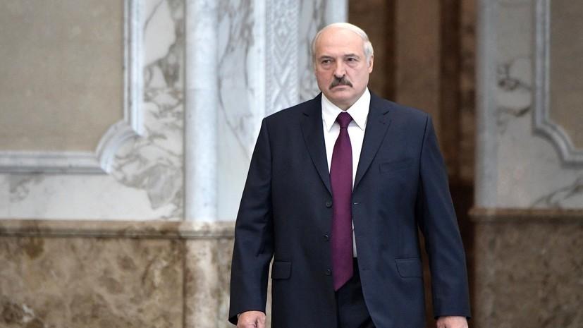 Лукашенко направился с рабочим визитом в Россию