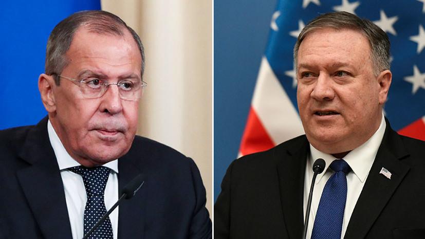 «Ничем не оправданный шаг»: Лавров предупредил США о последствиях введения новых санкций против России