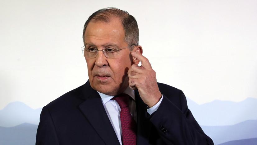 Лавров заявил о несамостоятельности ЕС в вопросе принятия новых санкций
