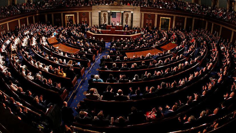 «Давняя традиция»: в конгресс США внесли законопроект о новом пакете санкций в отношении России
