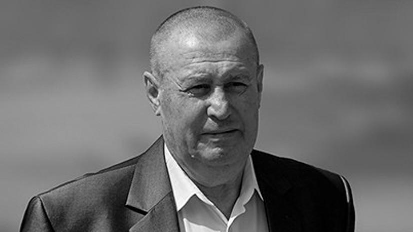 Экс-футболист сборной СССР Хмельницкий скончался в возрасте 75 лет