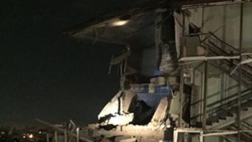 Хлопок газа произошёл в жилом доме в Красноярске