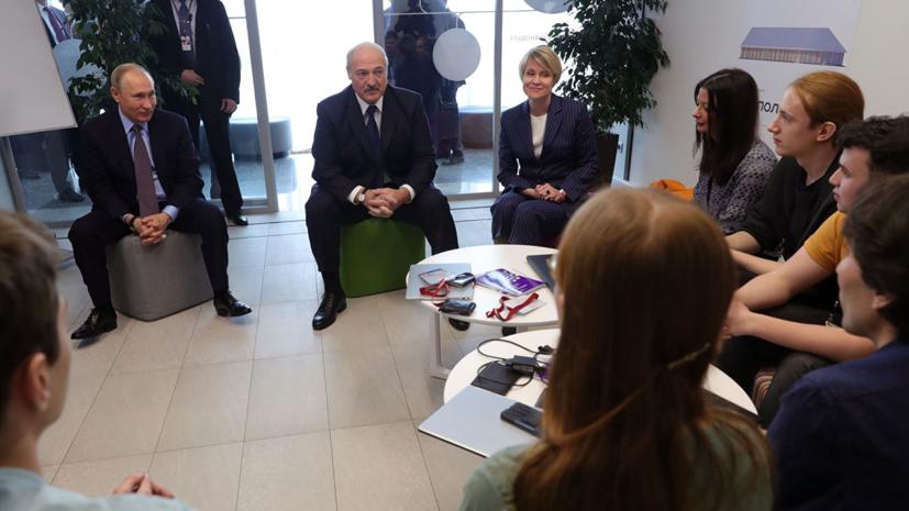 Лукашенко после встречи с Путиным назвал святым суверенитет Белоруссии