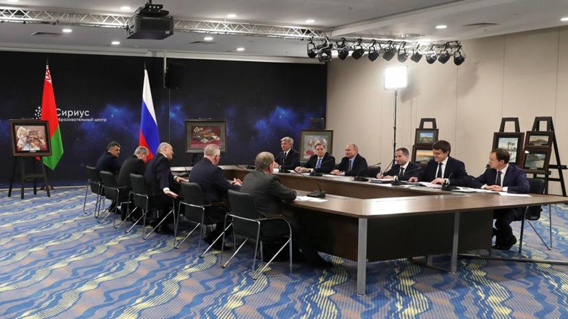 Лукашенко адресовал вопрос об интеграции народам России и Белоруссии