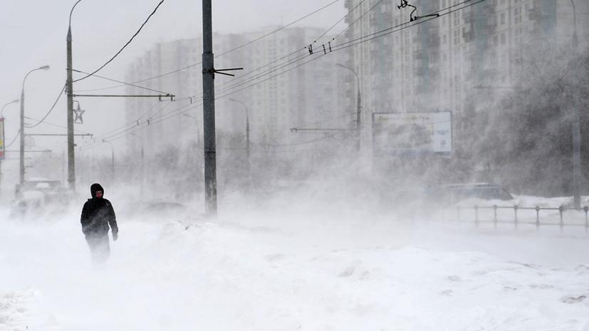 В Москвепродлили «жёлтый» уровень погодной опасности