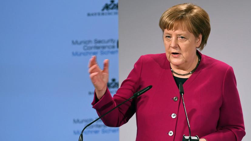 Меркель: ЕС не заинтересован в разрыве отношений с Россией