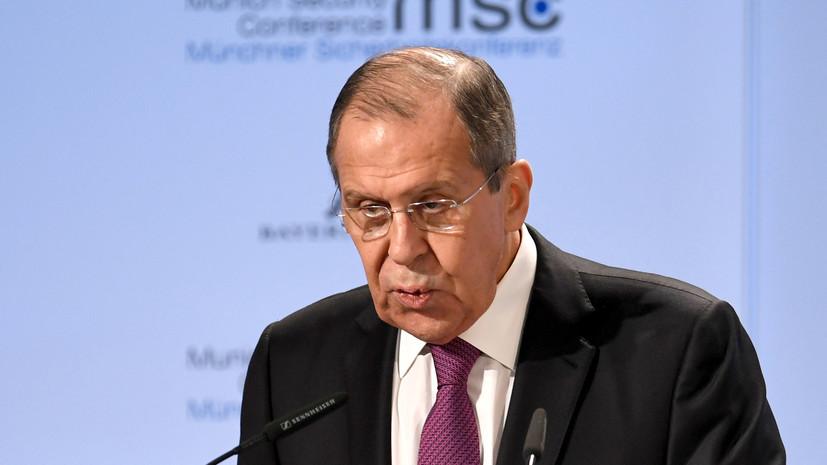 Лавров: Россия заинтересована в сильном и самостоятельном Евросоюзе