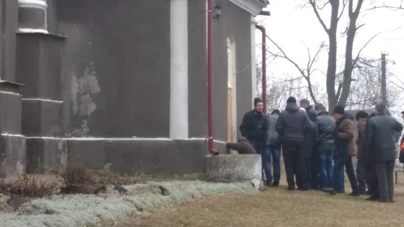 В Волынской области захватили храм УПЦ