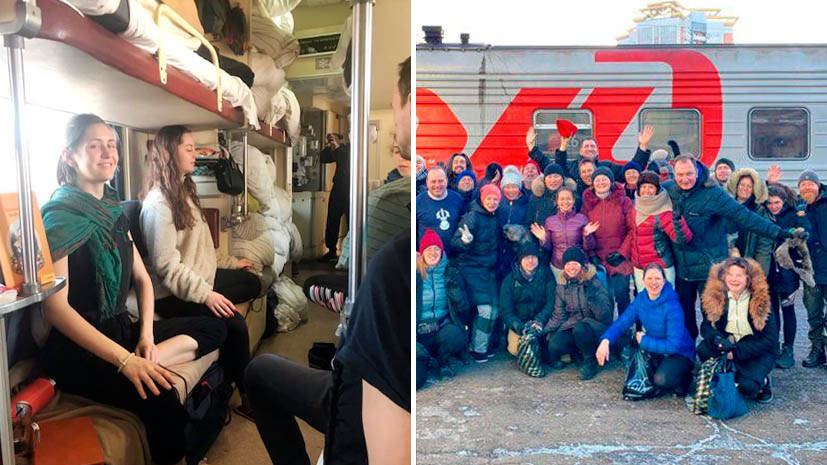 «Сибирь похожа на поля бриллиантов»: как буддисты со всего мира едут на поезде из Москвы во Владивосток