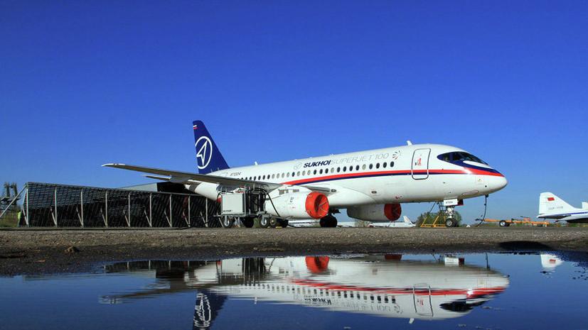 «Ведомости»: ирландская авиакомпания CityJet отказалась от SSJ-100