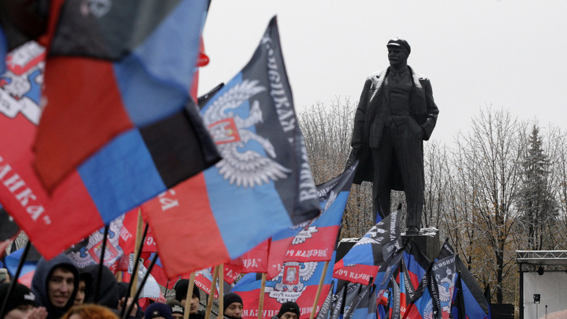 В ДНР рассказали подробности взрывов в центре Донецка