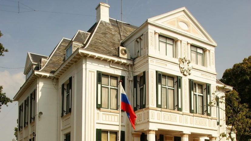 Посольство России выясняет ситуацию с задержанием россиянок в Амстердаме