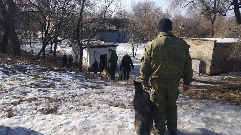 На месте взрыва в Донецке найден фрагмент электродетонатора