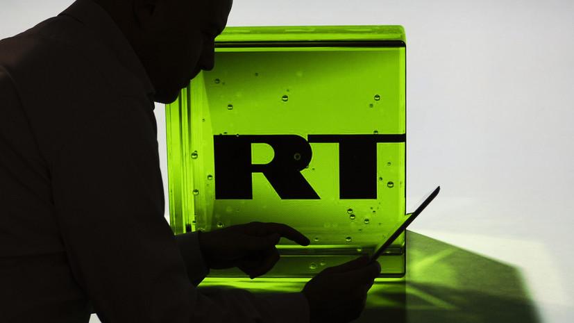 В Кремле прокомментировали блокировку Facebook одного из проектов RT