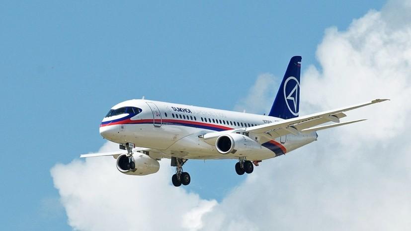 Мантуров оценил ситуацию с отказом ирландской CityJet от SSJ-100