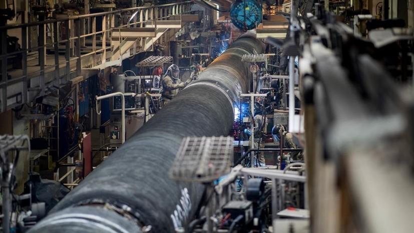 Nord Stream 2 построила около 700 километров «Северного потока — 2»