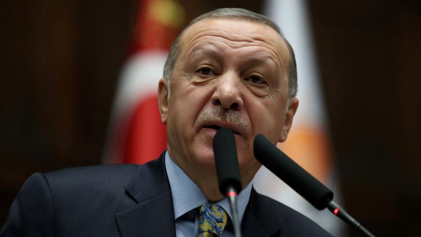 Эрдоган раскритиковал НАТО за «предоставление оружия террористам»