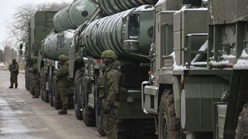 Россия уничтожила предназначенные для КНР повреждённые ракеты С-400