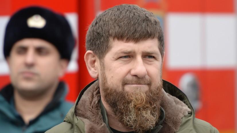 Кадыров объяснил временную передачу управления Чечнёй Хучиеву