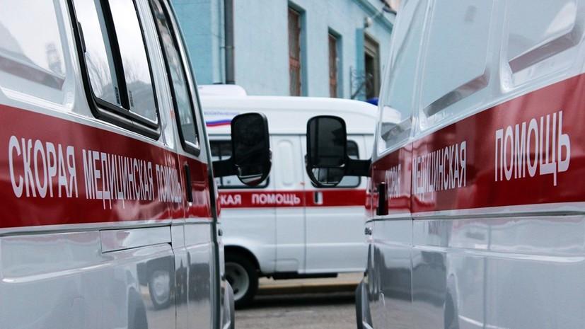 На Урале в ДТП с микроавтобусом один человек погиб и восемь пострадали