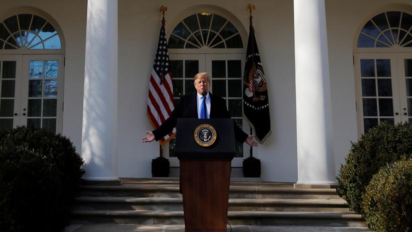 Политическое фехтование: смогут ли оппозиционные штаты отменить через суд решение Трампа о режиме ЧП в США