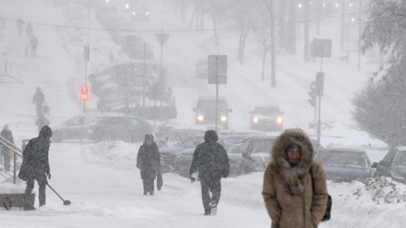 В Оренбурге ввели режим ЧС из-за снегопадов