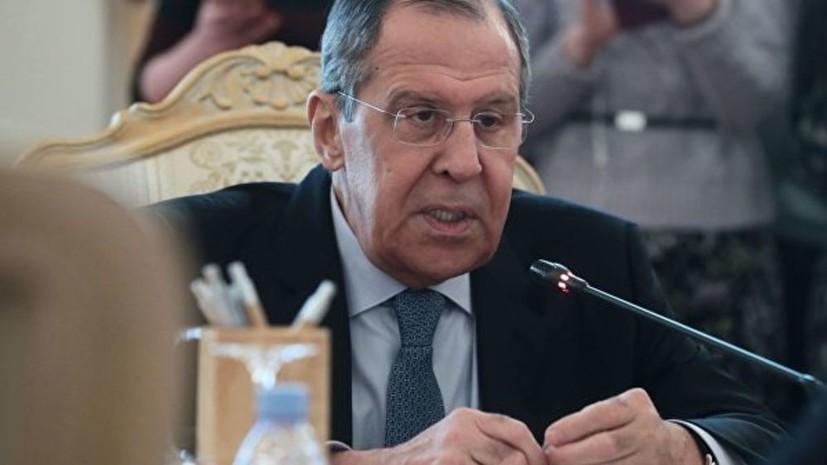 Лавров сообщил о финальной стадии создания конституционного комитета САР