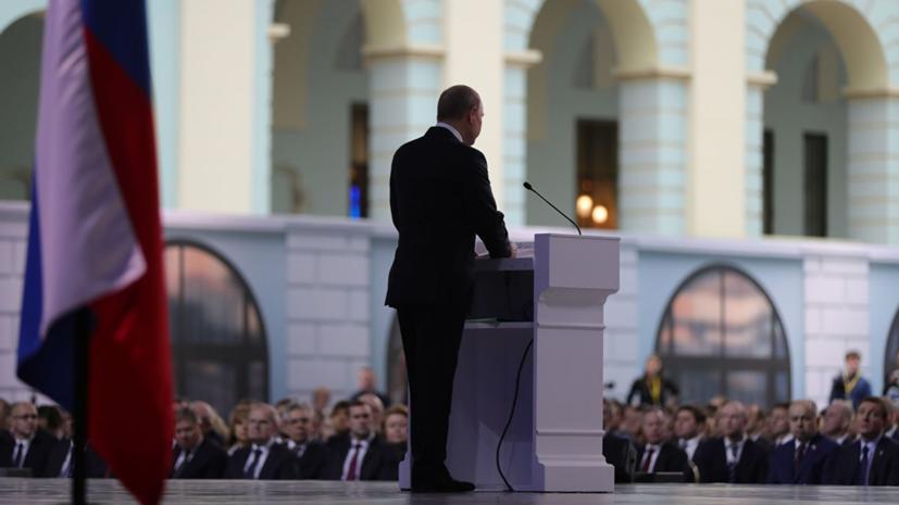 Путин призвал бизнес инвестировать в рынок газомоторного топлива