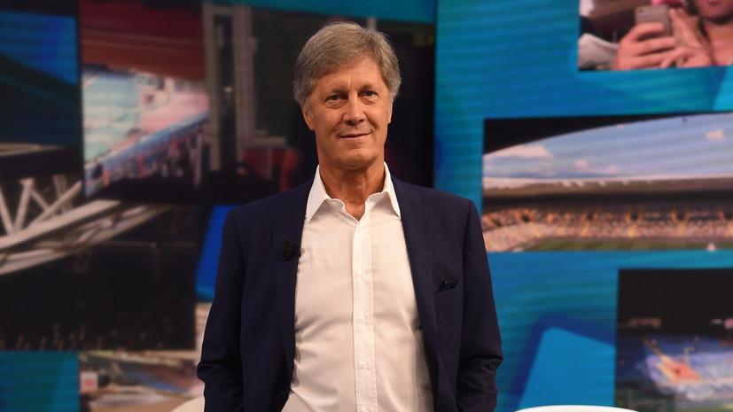 В Италии экс-футболиста сборной отстранили от работы на телевидении за сексизм