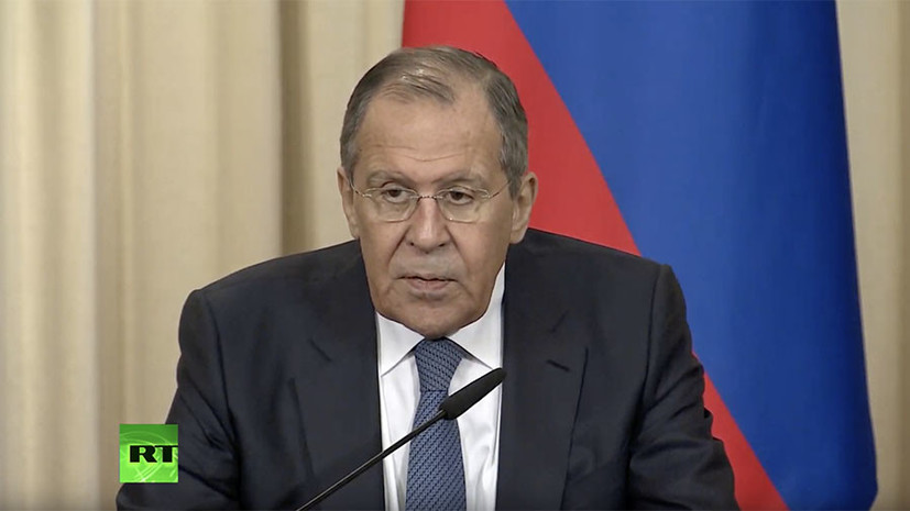 Press conference following the talks of Lavrov and the Foreign