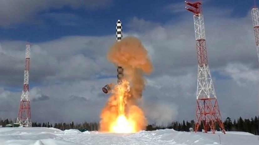 Россия успешно завершила стендовые испытания «Сармата»
