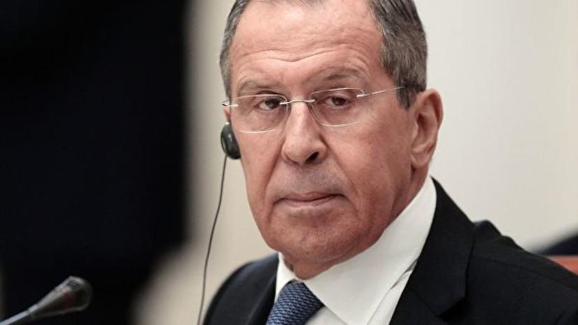Лавров прокомментировал угрозы Трампа в адрес венесуэльских военных