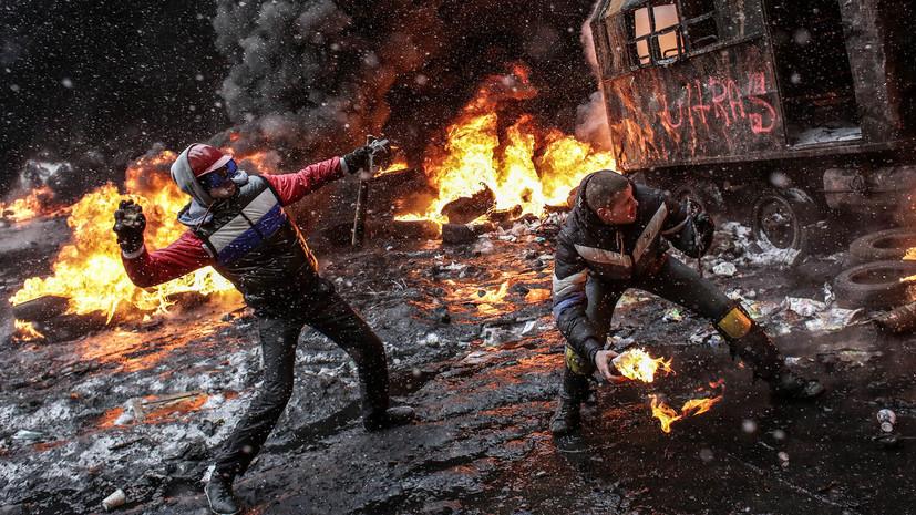 «Бедность и воинствующий национализм»: пять лет назад на Украине произошёл государственный переворот