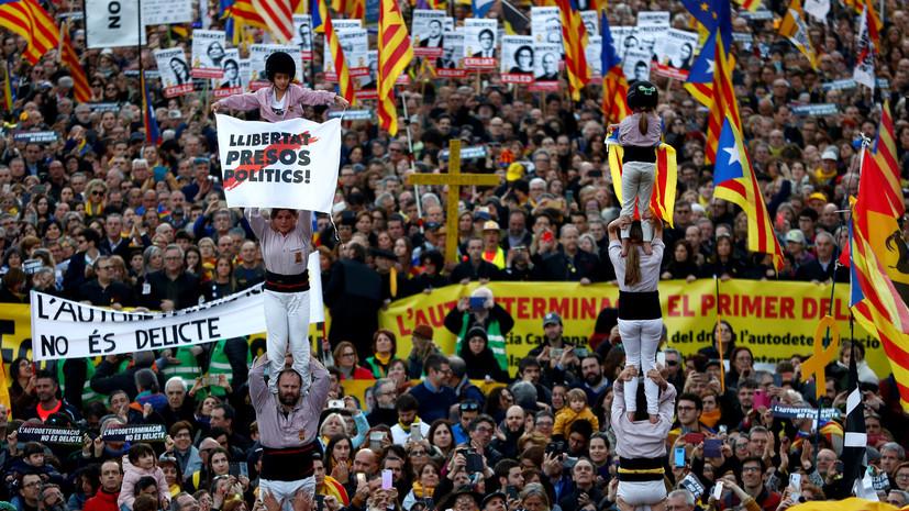 Число пострадавших в ходе акций протеста в Каталонии возросло до 46