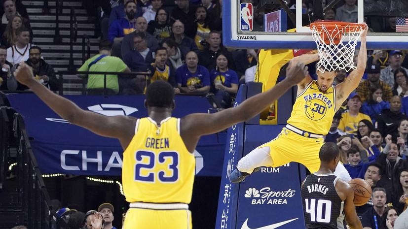 36 очков Карри принесли «Голден Стэйт» победу над «Сакраменто» в НБА