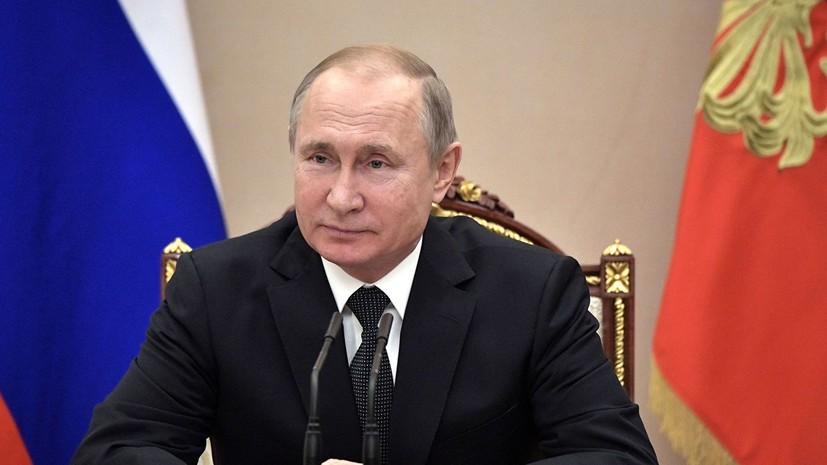 Путин: Россия будет укреплять оборонный потенциал