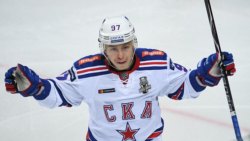 Гусев стал лучшим бомбардиром регулярного чемпионата КХЛ