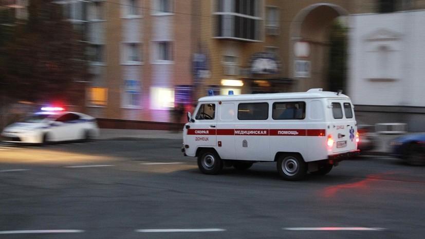Число погибших при взрыве автомобиля на КПП в Донбассе возросло до двух