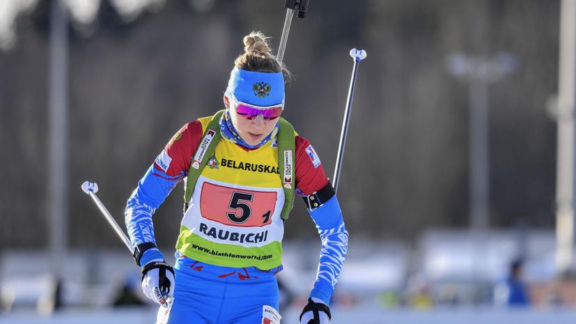 Биатлонистка Павлова: или я кран, или лыжи не едут