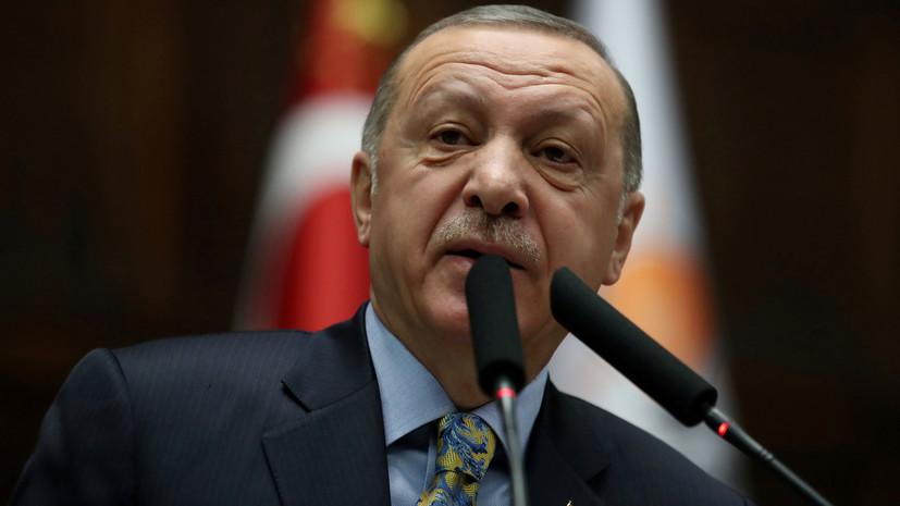 Эрдоган призвал Запад поддержать усилия Турции по возвращению беженцев в Сирию