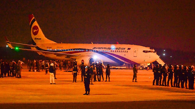 Власти Бангладеш заявили о ликвидации захватившего самолёт мужчины