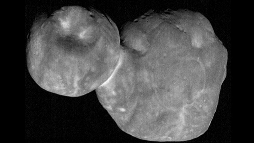 Объекты неизвестного происхождения: что New Horizons увидел на астероиде Ultima Thule