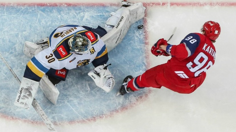 «Локомотив» вышел вперёд в серии с «Сочи» в плей-офф КХЛ